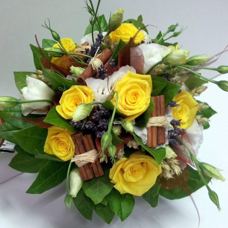 bouquet mariage espace fleurs la garde