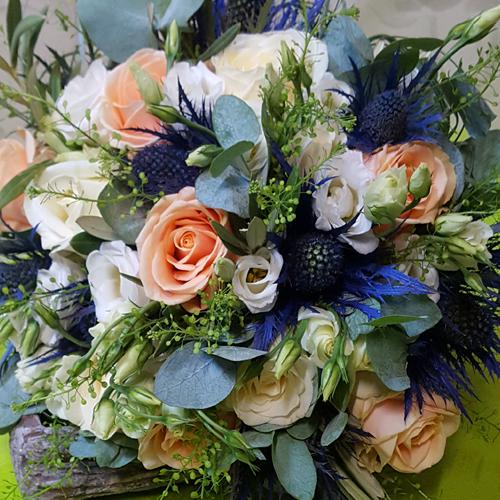 bouquet de mariage espace fleurs la garde